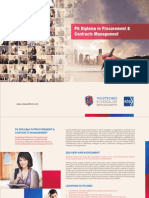 PG Diploma in Procurement & Contracts Management Brochure