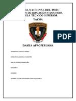 Monografia Danza Afroperuana