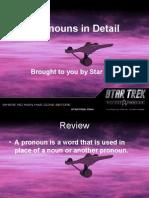 Pronouns in Detail