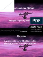 Pronouns in Detail