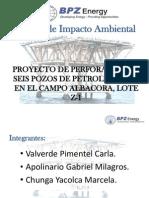 EXPO EIA-Proyecto de Perforación de Seis Pozos de Petróleo y Gas en El Campo ALBACORA, Lote Z-1