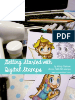 eBook - Getting Started With Digital Stamps by Kristy Dalman Some Odd Girl Stamps
