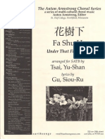 Fa Shu Ha Trad Chinese Song