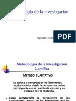 Metodologia Primera Clase 3 Solo Cualitativo