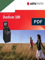 Agfa Duoscan 100 Manual