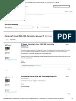 Replacing Probook 4520s HDD