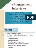 case management interviews