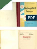 Manual matematica clasa X