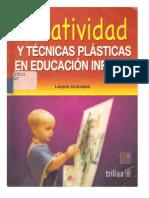 2. Creaatividad y Tecnicas Plasticas Preescolar