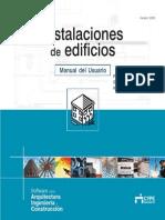 Instalaciones de Edificios - Manual Del Usuario_cype 2