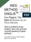 Barnes Method English Fun Papers PT @ Tradução by Mario Junior