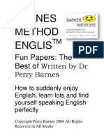 Barnes Method English Fun Papers PT @ Tradução by Mario Junior