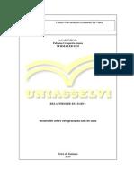 Relatorio de Estagio Da Uniasselvi 2013