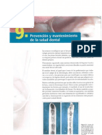 9. Prevencion y Mantenimiento de La Salud Dental