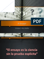 Ensayo PPT