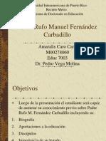 Padre Rufo Manuel Fernández