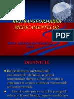 BIOTRANSFORMAREA_MEDICAMENTELOR