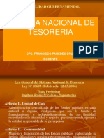 Sitema Nacional de Tesoreria