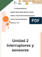 Unidad 2 Interruptores y Sensores