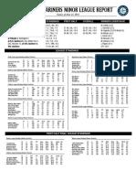06.22.14 Mariners Minor League Report