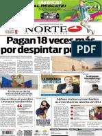Periódico Norte edición del día domingo 22 de junio de 2014