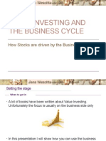 Value Investing and the Business Cycle