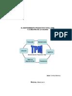 El Mantenimineto Productivo Total (TPM) y La Mejora de La Calidad_cinthia