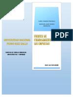 Fuentes de Financiamiento de Las Empresas- Trabajo