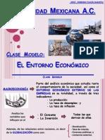 Clase Modelo Entorno Economico