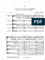 Trois Beaux Oiseaux Du Paradise - Maurice Ravel