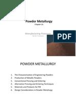 Chapter 08 - Powder Metallurgy