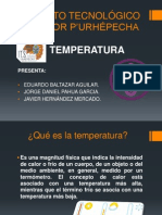 Expo Temperatura