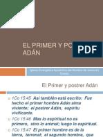 El Primer y Postrer Adán