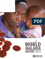 World Malaria Report 2013 Full Report