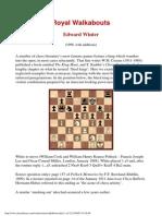 Edward Winter - Royal Walkabouts