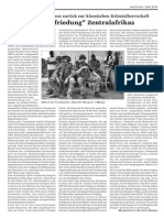 Die Befriedung Zentralafrikas