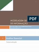 Slides G1 - Modelagem de Sistemas de Informação
