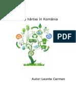 Reciclarea Hârtiei- Leonte Carmen