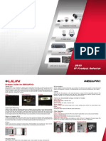 2013 LILIN IP Product Selection Guide