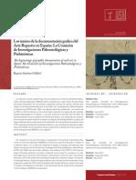 INICIOS DOCUMENTACION GRAFIA ARTE RUPESTRE ESPAÑASanchezCAR201206_04.pdf