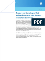Consulting Whitepaper Procurement Strategies Long Term Effectiveness Short Term Wins 1012 1