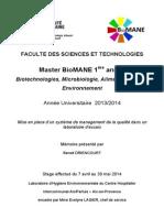 Rapport de stage — Centre Hospitalier Aix