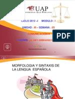 Tercera Semana Morf y Sint Del Español