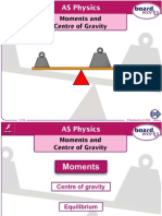 moments and centre of gravity