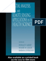 GIS, Remote Sensing - Applications in the Health Sciences