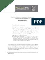 Manifesto, Identidade e Planificación Do Repertorio