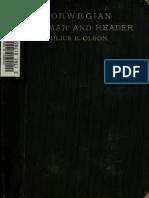 Norwegian Grammar and Reader- Julius Olson