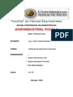 AGROINDUSTRIAL PUCALA