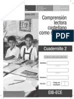 C. Lectora L2 - Cuadernillo 2-2009