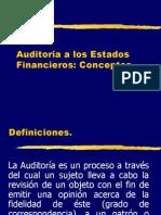 Concepto de Auditoria